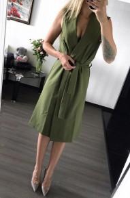 Платье Eliz хаки