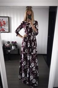 Платье Elizabett винное Series
