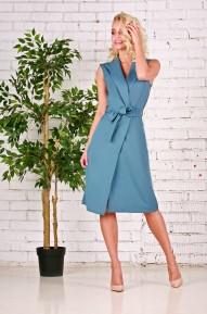 Платье Eliz сине-голубое