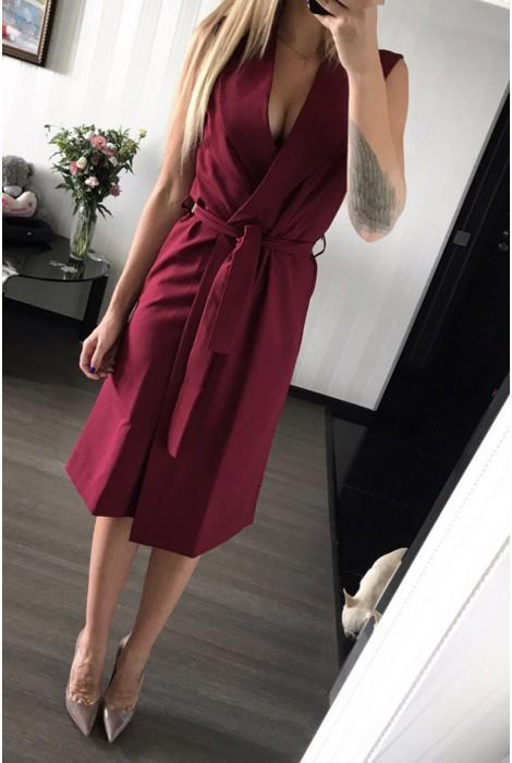 Платье Eliz винное