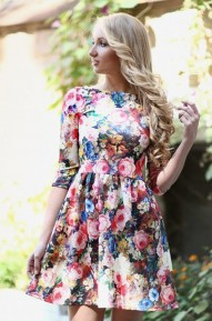 Платье Flowers