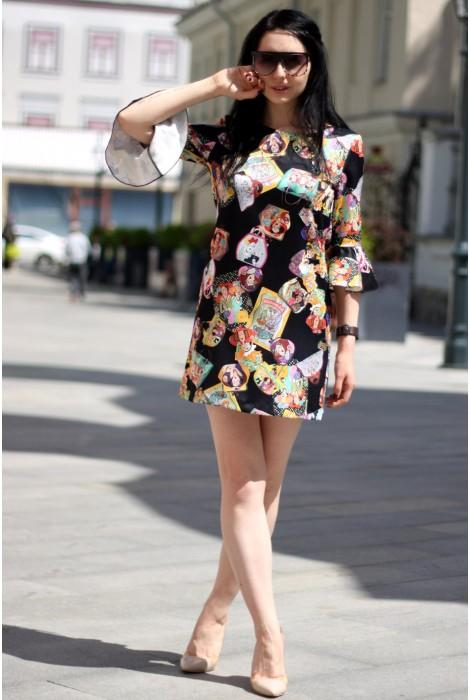 Платье А-силуэта Exue