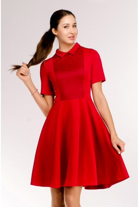 Платье Idil бордовое