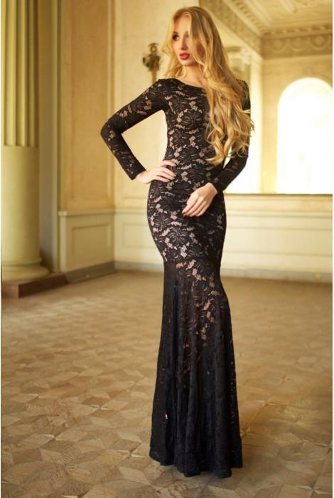 Платье Jacklin черное
