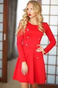 Платье Kaiton красное Series