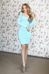 Платье Leleya синие
