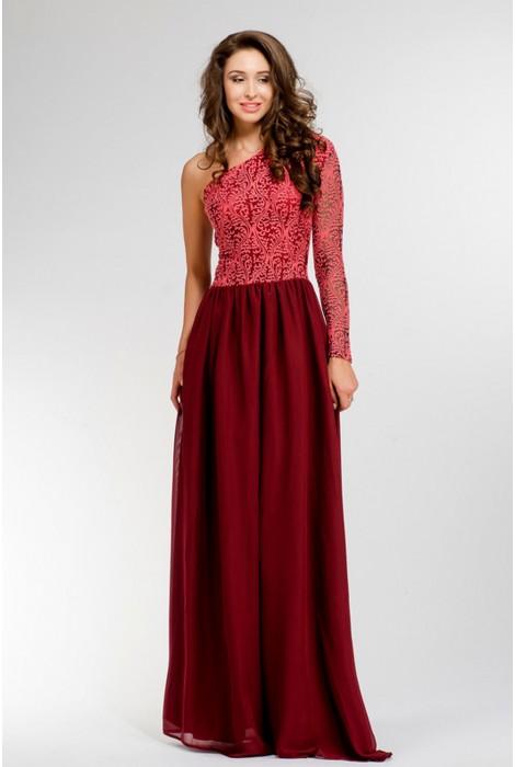 Платье в пол Martina