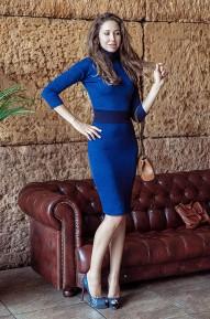 Платье Madonna Синие