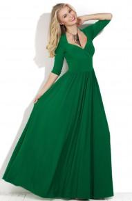 Платье в пол Maybe зленое