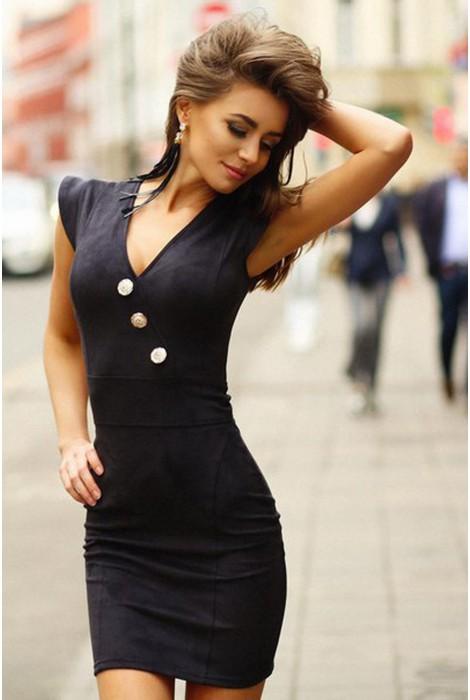 Платье Megan черное
