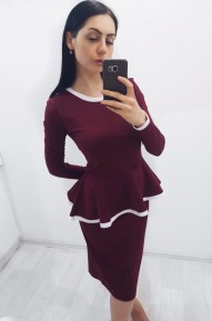 Костюм Sara винный Series