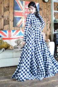 Платье в пол Sun с полноценной юбкой-солнце!