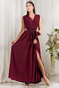 Платье Natal марсала Series