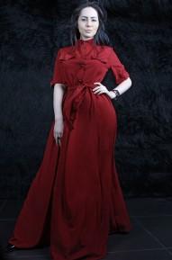Платье Odry винное  Series