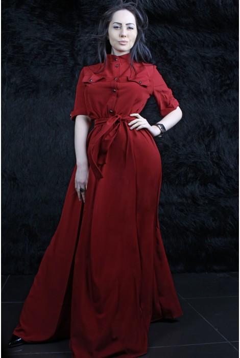 Платье Odry винное