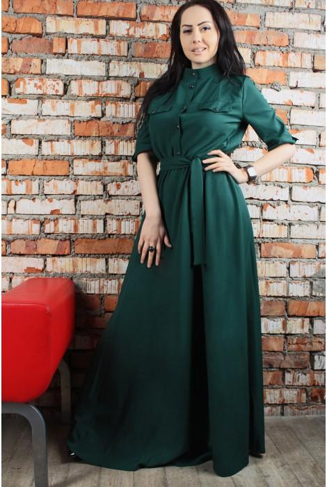 Платье Odry изумрудное