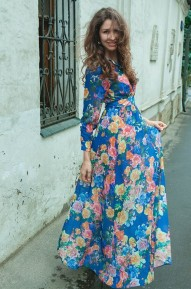 Платье в пол Pepi