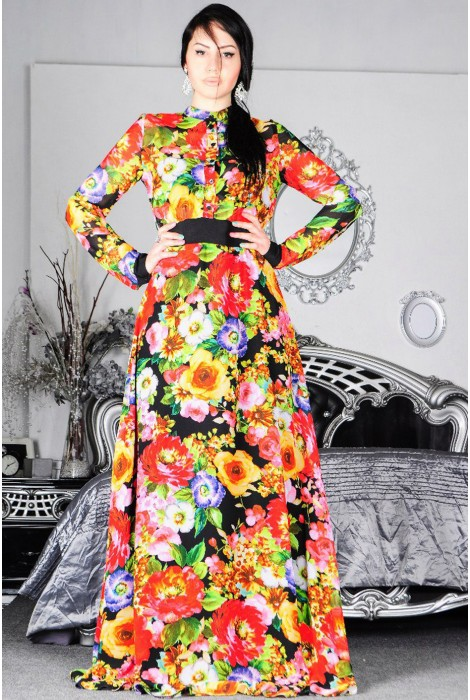 Платье в пол Patricia