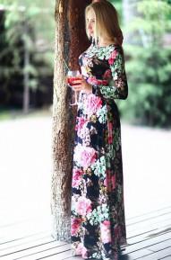 Платье в пол Roset