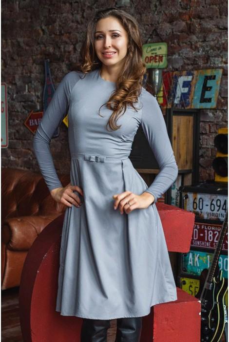 """Платье """"Лунный камень"""" Grey"""