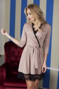 Платье Anika бежевое