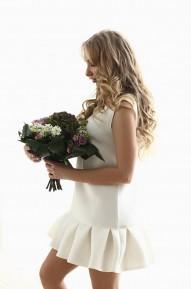 Платье Adit молочное