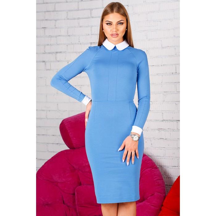 Платье Donna голубое