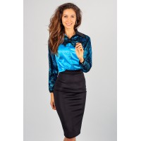 Блуза с кружевом Sky